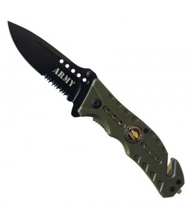Army knife rescue, assisted opening