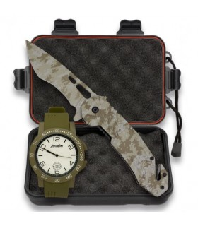 in September tactical knife, tactical watch and case