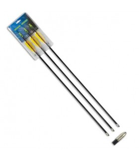 "Blister 3 fiberglass arrows 30 ""bow"
