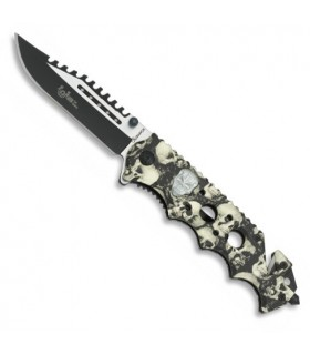 Skull tactic assisted opening knife