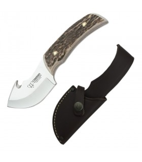 Deer skinner knife handle, blade 7.5 cms.