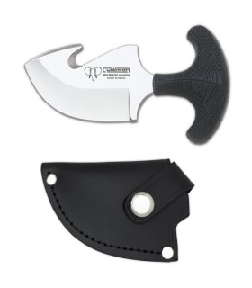 Tactical Knife rubber handle, blade 8 cms.