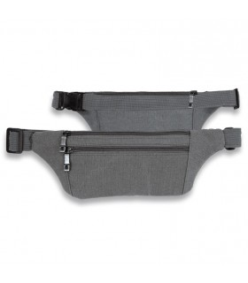 Fanny pack, Barbaric canvas, grey