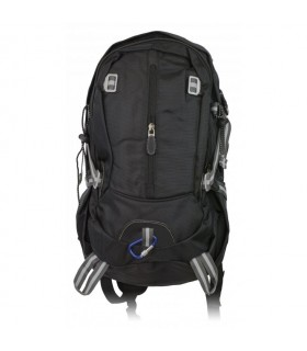 Tactical backpack black Barbaric, nylon