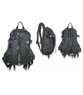 Tactical backpack, black, nylon