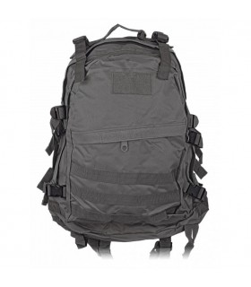 Backpack, black nylon, Barbaric