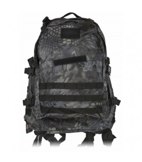 Backpack nylon Black Python, Barbaric