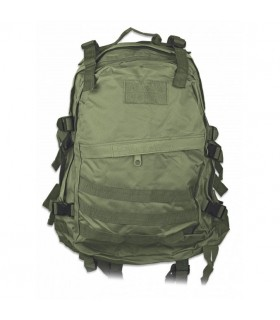 Backpack nylon Olive Green, Barbaric