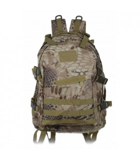 Backpack nylon Coyote Python Camo, Barbaric