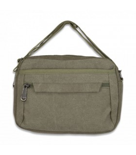 Bag Barbaric canvas, Green