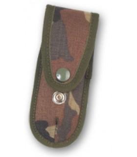 Sheath knife camouflaged