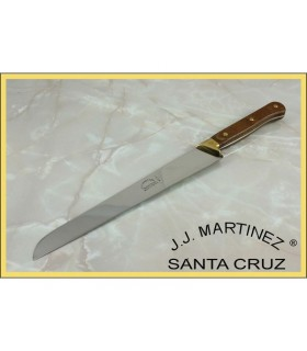 Knife Fiambrero craft with ferrule in brass, 31,5 cms.