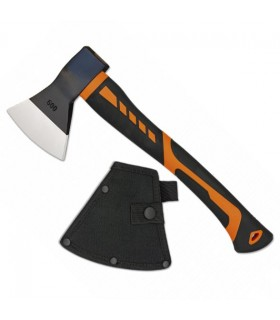 Axe tactical Albainox Orange 43 cms.