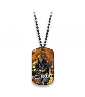 Plate with ball chain Fire Fighter
