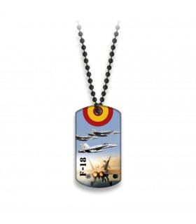 Plate with ball chain (F-18