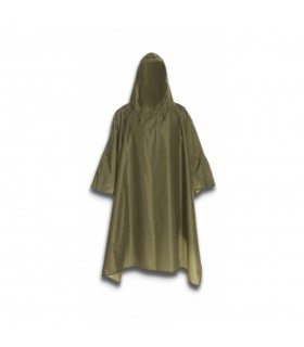 Waterproof Poncho color green