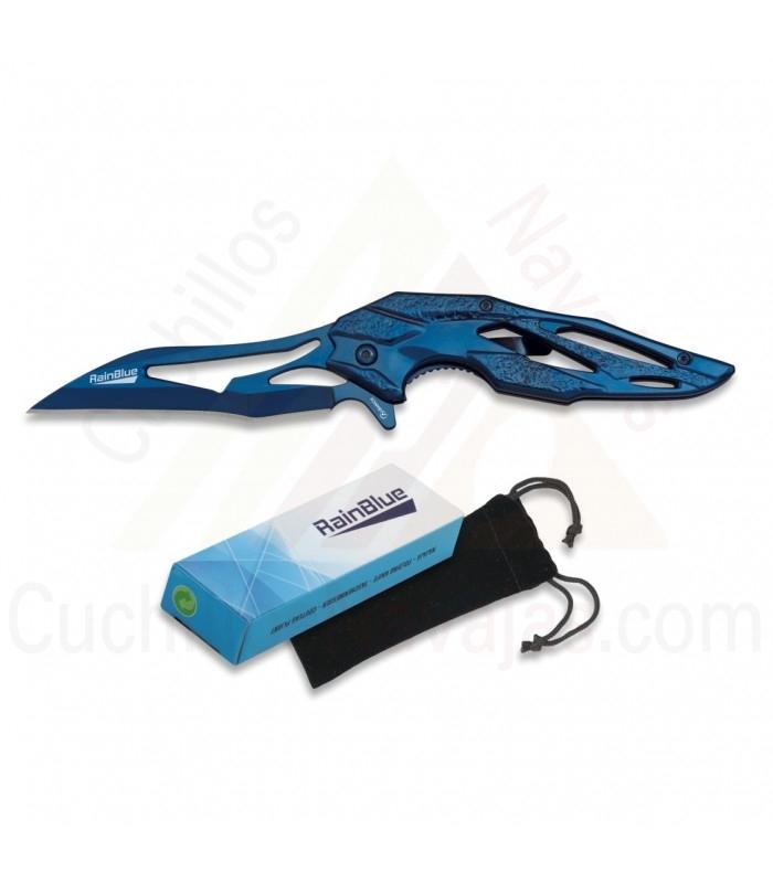 Knife RainBlue FOS 9.8 cms