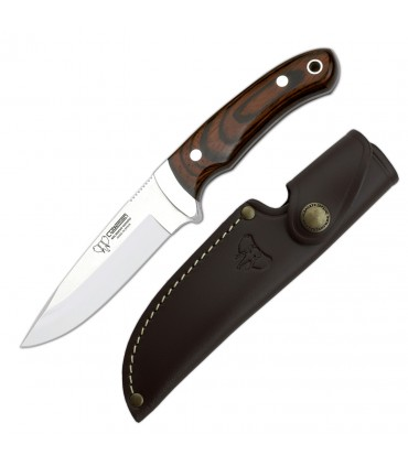 Hunting knife Cudeman stamina red
