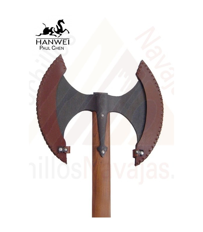 Axe double blade, functional