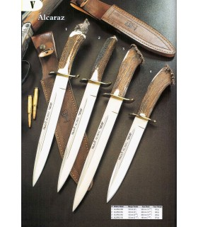 Alcaraz knives with stag horn handle