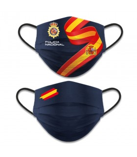 Face accessory reversible Level 3, National Police