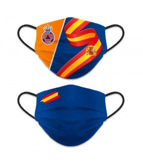 Face accessory reversible Level 3, Civil Protection