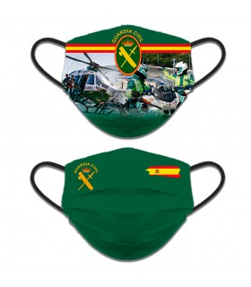 Face accessory reversible, a Civil Guard of Traffic. Spain