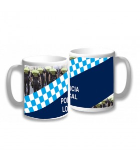 Cup Ceramic Local Police of Spain