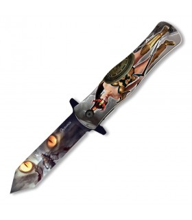 Pocket knife Albainox Warrior Cat, a cutting edge