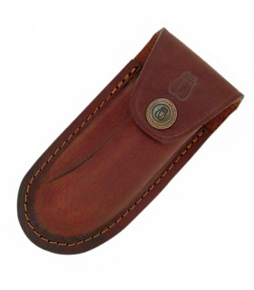 Leather cases for Laguiole knives, 11 cms.