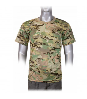 T-shirt military camouflage Barbaric CP in short sleeve