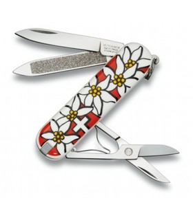 Decorated Edelweiss Classic Knife, 7 features