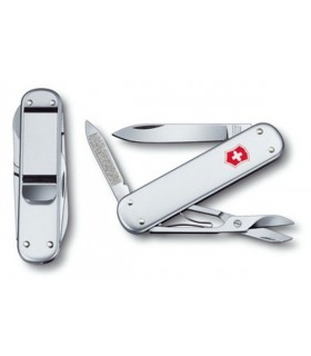 Swiss Army knife with money clip