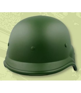 Green helmet for airsoft