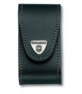 Case black leather belt layers 5-8