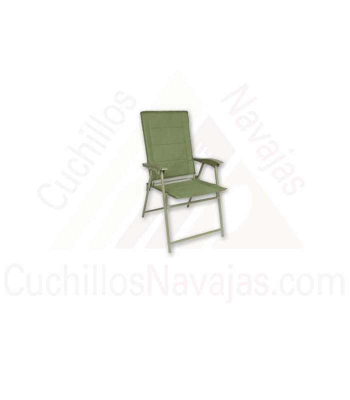 Aluminum chair for camping and garden