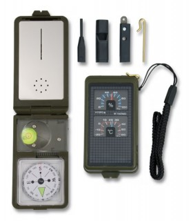 Compass with Survival Accessories