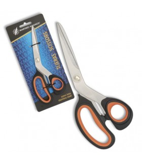 Orange scissors handle double injection